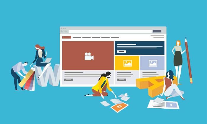 ホームページの構成の作り方