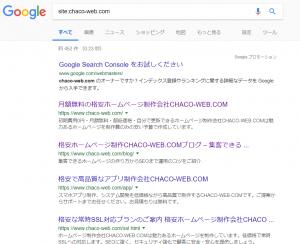 Googleにインデックスされている事例